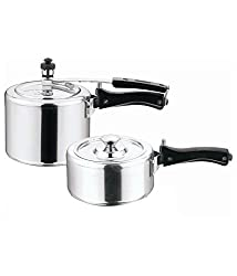 Home Zone Induction Base Pressure Cookers 2L & 3 L( Inner Lid) With SS Lid