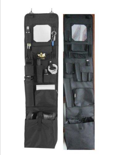"Police Style Hanging Locker or Closet Door Organizer 11"" x 52"" - Locker Org."