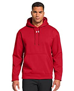 Under Armour Men's Armour® Fleece Team Hoodie Large Red
