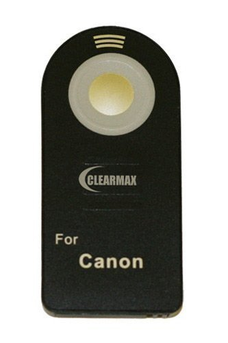 Wireless Remote Control for Canon EOS Digital Rebel XT, XTi, XSi, T1i, T2i, 7D & 5D Mark II Digital SLR Cameras (Canon RC-1 Or RC-5 Replacement) PLUS OUR EXCLUSIVELY DESIGNED BENDY FLEXPOD