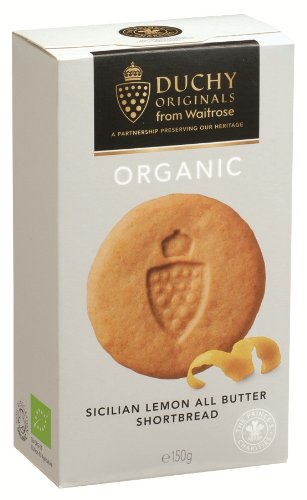 Duchy Originals Sicilian Lemon Organic Shortbread 150 g (Pack of 4)