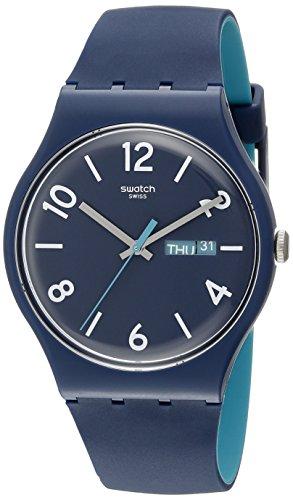 [スウォッチ]SWATCH 腕時計 NEW GENT(ニュージェント) BACKUP BLUE (バックアップ・ブルー) SUON705 メンズ 【正規輸入品】