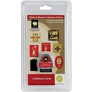 Cricut Seasonal Cartridge, Christmas Cards