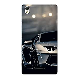 Cute Vintage Super Car Multicolor Back Case Cover for Sony Xperia T3
