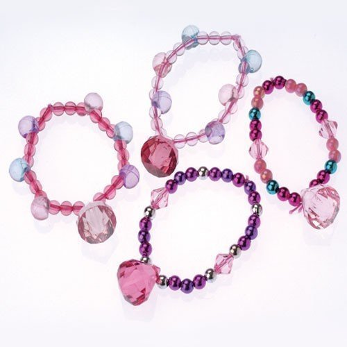 Princess Jewel Bracelets - 12pk