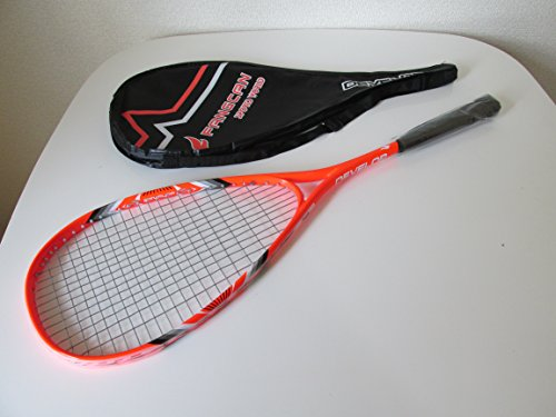 (S22) fluorescent orange for squash racket domestic lowest grade lightweight tough structure.