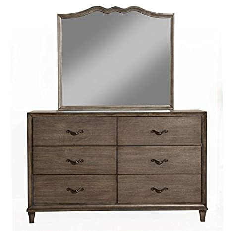 Charleston Wood-Framed Dresser Mirror
