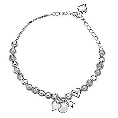 Hot Diamonds Just Add Love Trinket Bracelet