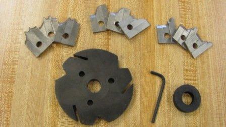 Corob Starter Kit: Mhk25 Molding Knife Head & 3 Sets Of Knives (#3,15,21)