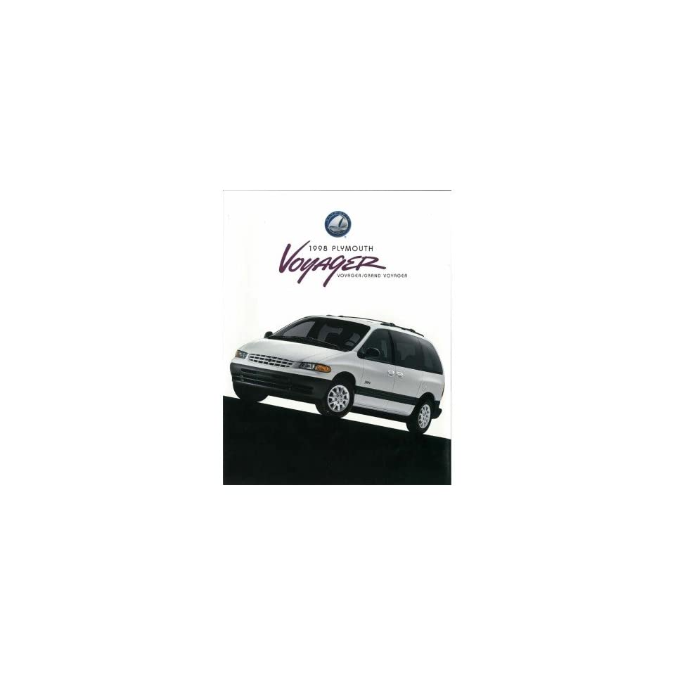 1998 Plymouth Voyager Grand Sales Brochure Literature Book Options Specification