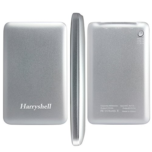 Harryshell-6800mAh-Dual-Port-USB-Power-Bank