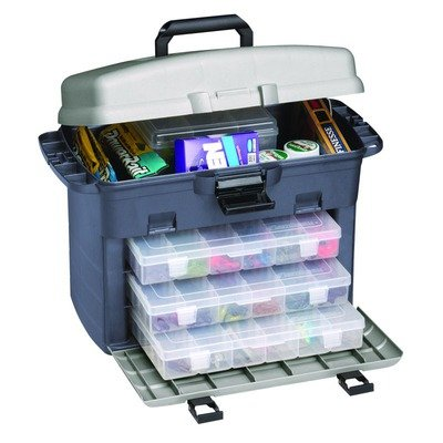 Flambeau Tackle Zerust Frontloader Tackle Box (Blue, 17.375x9.75x12.625-Inch)