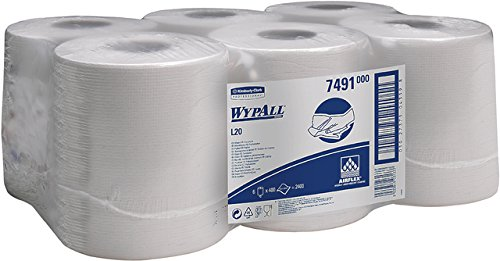 kimberly-clark-wypall-l20-roll-control-wipers-pk67491