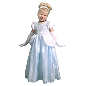 Princess Dress-Up Set & Wondercharms Necklace, MEDIUM  (3-5)