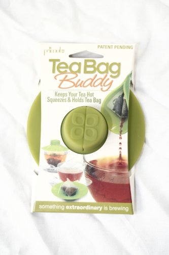 Check Out This Epoca Silicone Tea Bag Buddy, 2-Pack, Green