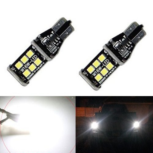 JDM ASTAR 800 lumens Extremely Bright Error Free 921 912 PX Chipsets LED Bulbs For Backup Reverse Lights, Xenon White (Backup Light Led compare prices)