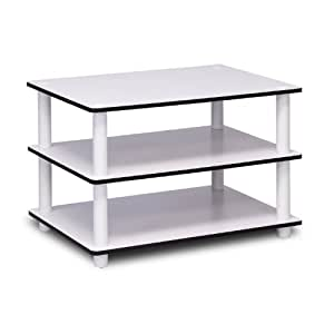 Countertop Microwave Stand : Amazon.com: Furinno 11173 Just 3-Tier No Tools Coffee Table, White w ...