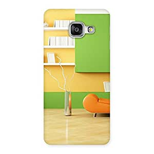 Enticing Pleasant Home Multicolor Back Case Cover for Galaxy A3 2016