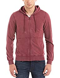 Prym Men's Cotton SweatShirt (8907423023659_2011518803_Medium_Maroon)