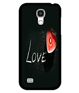 printtech Love Heart Light Back Case Cover for Samsung Galaxy S4 Mini::Samsung Galaxy S4 Mini i9190