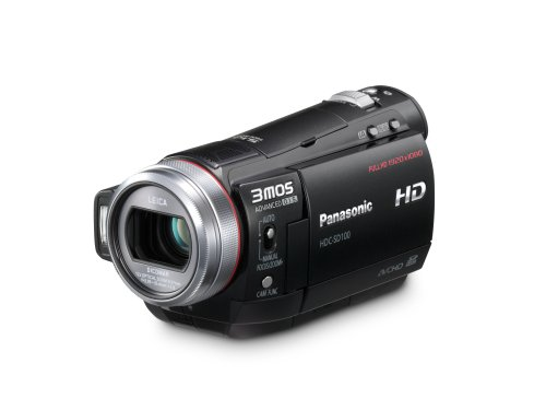 Panasonic HDC-SD100 Flash Memory High Definition Camcorder with 12x Optical Zoom