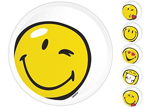 CERVE Lot de 6 porcelaine plats à pizza Minions 31 cm Vaisselle