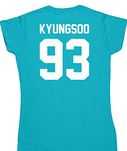 hippowarehouse-kyungsoo-93-printed-on-the-back-womens-fitted-short-sleeve-t-shirt