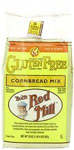 Bob's Red Mill Gluten-Free Cornbread Mix, 20-Ounce Units (Pack of 4)