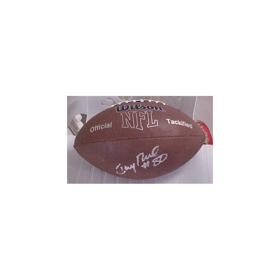 Jerry Rice Hand Signed Autographed San Francisco 49ers Wilson MVP Football