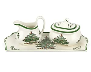 #!Cheap Spode Christmas Tree 3-Piece Serving Set