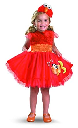 Frilly Elmo Costume (12-18 months)
