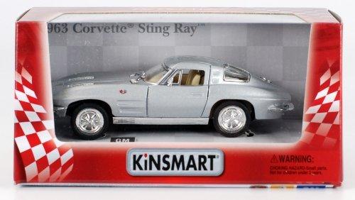1963 Chevy Corvette Stingray 1:36 Scale (Silver)