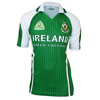 Buy Ireland Sublimated Football jersey Green & White by Croker