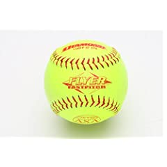 Diamond Sports 11RFP 47 375 Leather Cover Fastpitch Softball, Dozen (11-Inch) by Diamond Sports