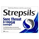 Strepsils Sore Throat & Cough Lozenges - 24 Lozenges