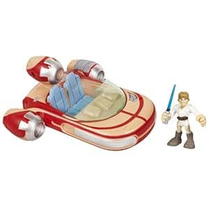 Star Wars Star Wars Jedi Force Land Speeder With Luke