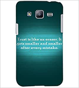 PrintDhaba Quote D-2893 Back Case Cover for SAMSUNG GALAXY J2 (Multi-Coloured)
