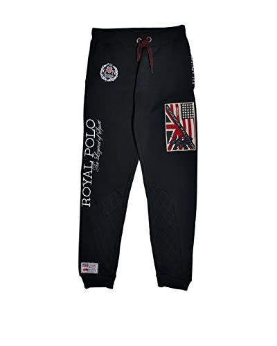 Geographical Norway Pantalone Felpa Mitsh [Blu Navy]