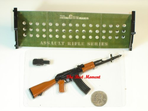 "Furuta_M4 Type 74 1/6 Mania Assault Rifle Gun Model For 1:6 Scale 12"" Action Figure Accessories (Original from TheBestMoment @ Amazon)"