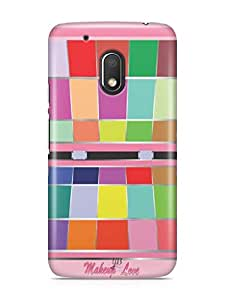 YuBingo Makeup Love Designer Mobile Case Back Cover for Motorola G4 Play