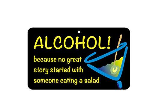 Fun Schild-Alkohol, keine tolle