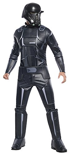 Rogue One: A Star Wars Story Men's Deluxe Death Trooper Costume, Multi, Standard