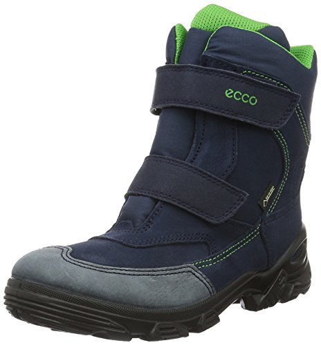 Ecco Snowboarde, Stivali da Neve Bambino, Blu (Marine/Marine/MEADOW50173), 37 EU