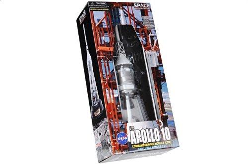 """1:72 ドラゴンモデルズ エアロスペース プログラム 50380 ダイキャスト モデル NASA アポロ 10 """"Charlie Brown"""" + """"Snoopy"""" Launch May 18th"""