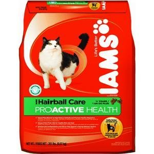 See ProActive Health Adult Cat Hairball Care Dry Cat Food (20-lb bag)