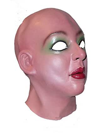 Leslie Female Latex Mask (Halloween Realistic Woman Mask) by JENNY LANDIS