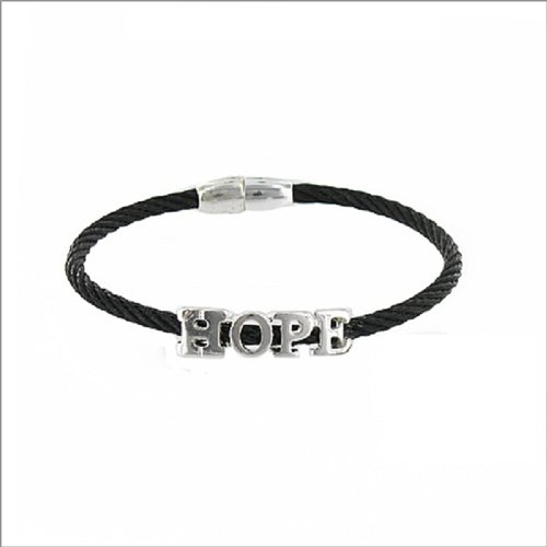 JOA Hope Sign Magnetic Closure Bracelet #036422