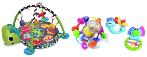 Infantino Grow With Me Ball Pit & Activity Gym With Activity Toy Set front-1025331