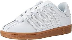 K-SWISS Classic VN-K Sneaker, White/Gum, 3 M US Infant