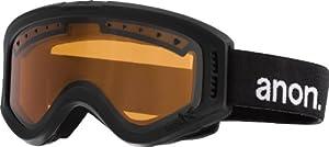 Anon Tracker Goggles, Black - Amber